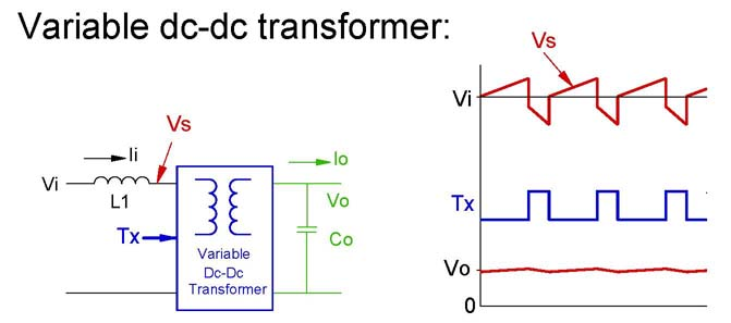 how to make a dc step up transformer